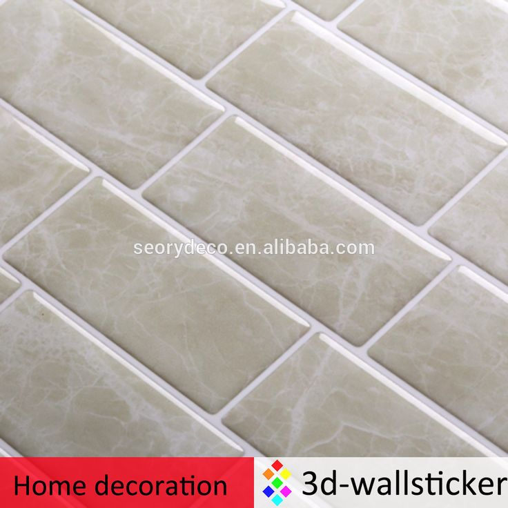 Do it yourself mosaic adhesive vinyl wall tiles for kitchen backsplash