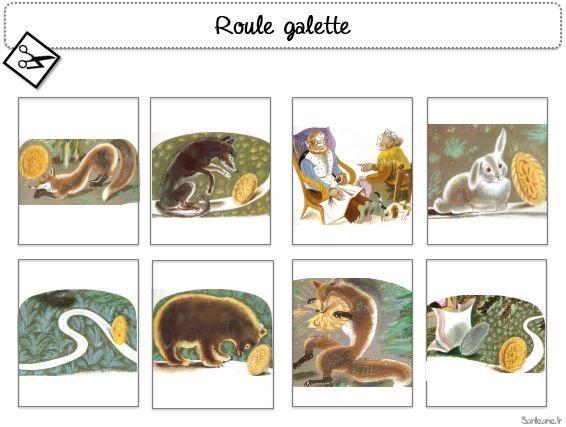 Roule galette images séquentielles