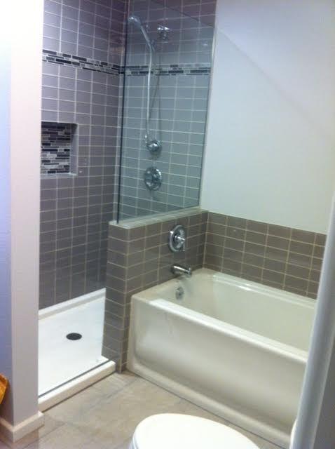 Bathtub Surround Tile Look