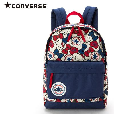 c76f21eb3 Hello Kitty x Converse Collaboration Kids Backpack Large L Size SANRIO JAPAN  | Hello kitty bags & shoes | Hello kitty backpacks, Hello kitty bag, ...