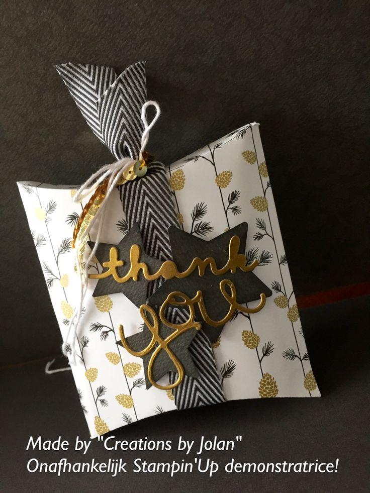 Fun Stampin'Up gift box @Creationsbyjolan