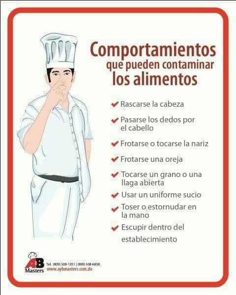 manual de seguridad e higiene de un restaurante pdf