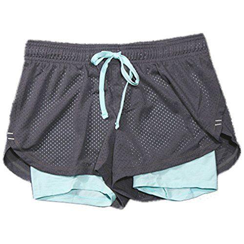 Damen 2 in 1 Fitness Shorts Kurze Sporthose Gitter Printe... https://www.amazon.de/dp/B01IP19P2Y/ref=cm_sw_r_pi_dp_x_sUxzybPPGT9DT