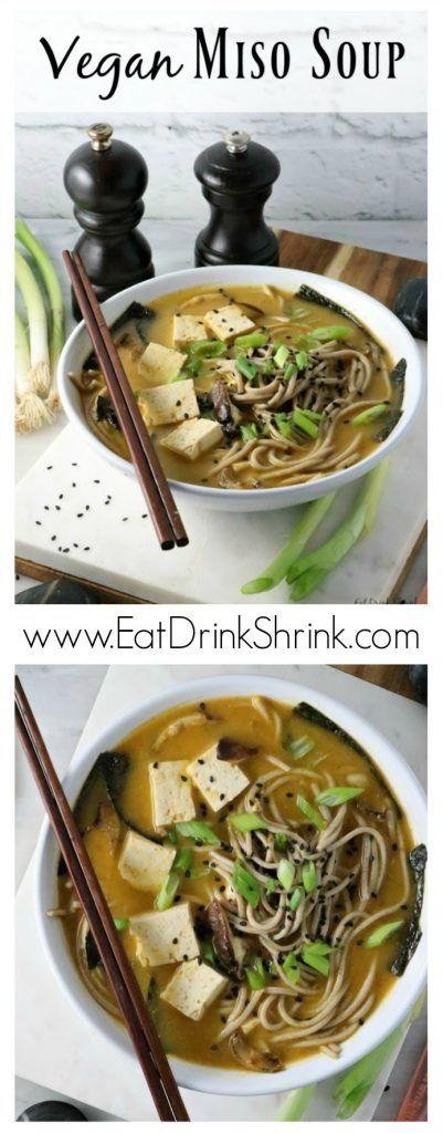 Vegan Miso Soup Recipe