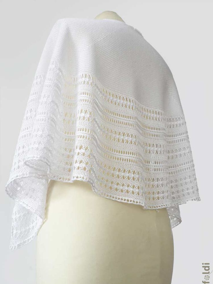 foldi: free machine knitting pattern