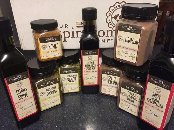 September 2015 New Release Products...Not shown is the amazing Raspberry Chocolate Balsamic.