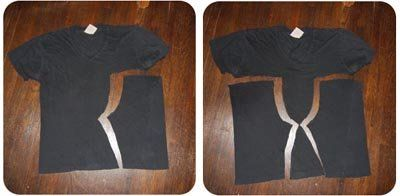 Baby yoga pants from old t-shirts, include printable pants pattern.
