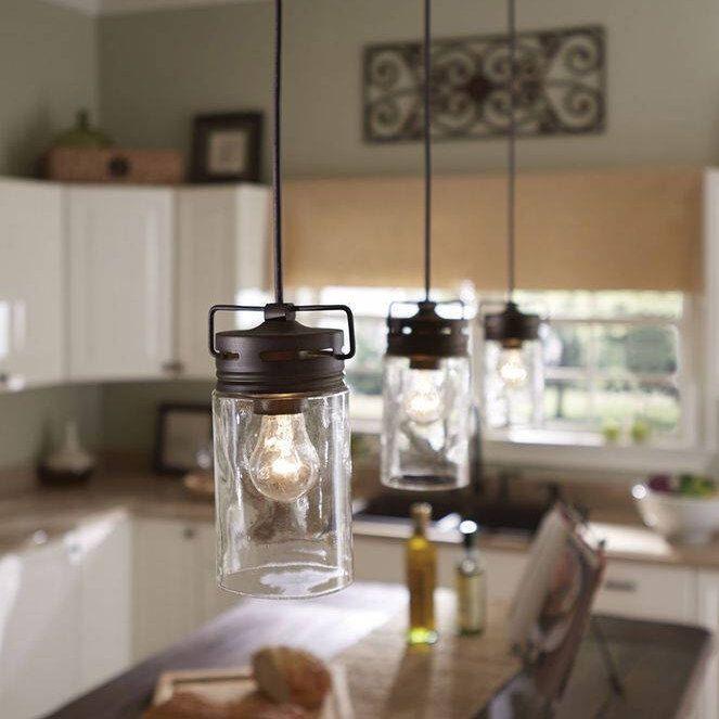 Mason Jar Kitchen Lighting: Best 25+ Mason Jar Pendant Light Ideas On Pinterest
