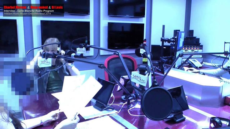 Charbel Moreno interviewed on radio Moyen-Orient  Carte Blanche program hosted by Maya Waked Last episode(Subtitled in English)