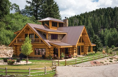 Wonderful Concepts To Create Your Dream Log Cabin Home In The Woods Or Next To A Creek A Peaceful Environment To Log Cabin Homes Log Cabin Rustic Cabin Homes