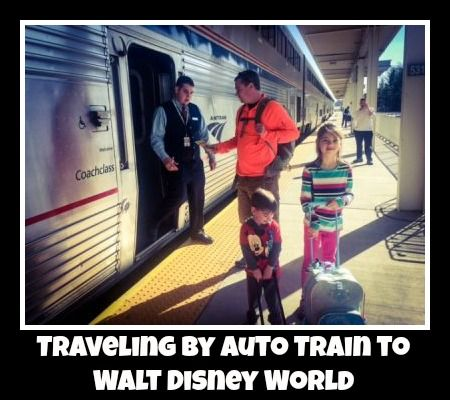 Disney World Tips for getting there!  Ever ride the Amtrak Auto Train?  Here's what to expect!