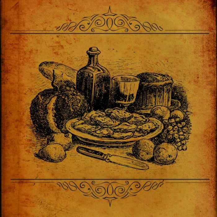 этом, старинные рецепты с картинками открытки
