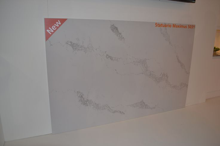 NEW colour in Caesarstone Ultrnatural collection - 5031 Statuario Maximus