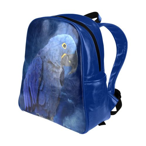 Hyacinth Macaw Multi-Pockets Backpack. FREE Shipping. FREE Returns. #lbackpacks #parrots