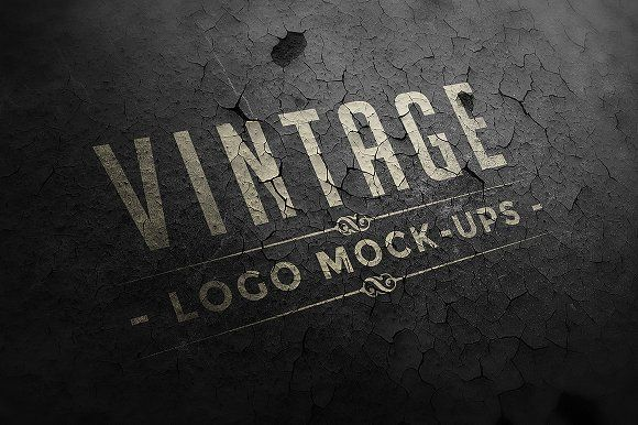 Vintage Logo Mock-ups by Zeppelin Graphics on @creativemarket