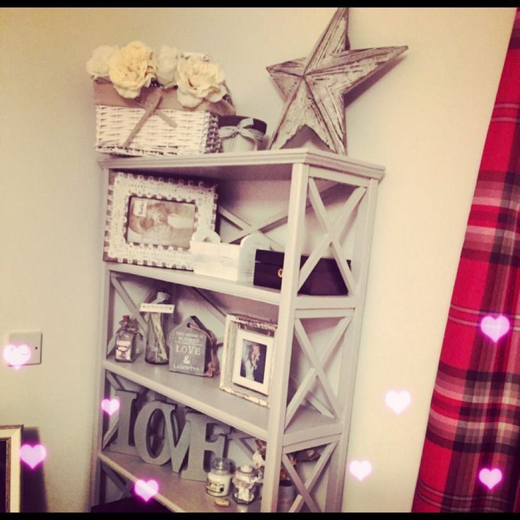 Shabby chic shelf of cuteness