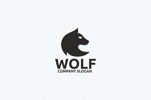 Wolf logo  @creativework247