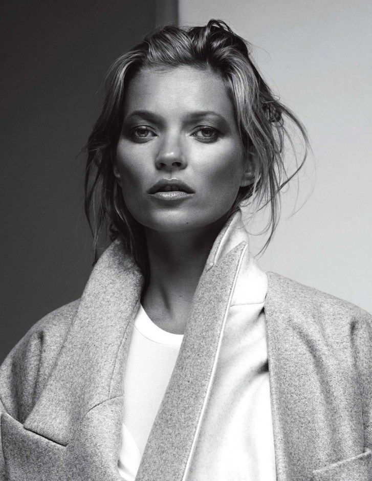 Kate Moss by Brian Adams for ZOO Magazine