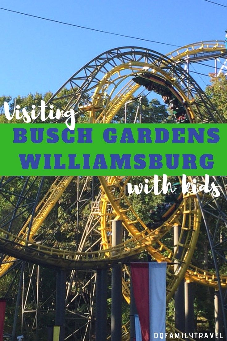 Things To Do In Busch Gardens Virginia