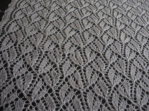 Dayflower Lace Knitting Pattern : Ravelry: Brownies Dayflower Throw pattern by Cath Ward ...