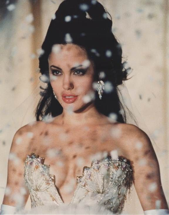 """Today's girl crush goes to Angelina Jolie and her role in Gia. A beautiful yet depressing film, we loved her in this role as Gia, a super model that was """"too beautiful to die. Too wild to live"""". Jolie perfectly captured Gia's wild spirit and effortless beauty."""