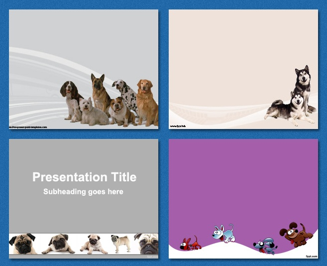 Free PowerPOint Templates Dogs / Pets / Best friend