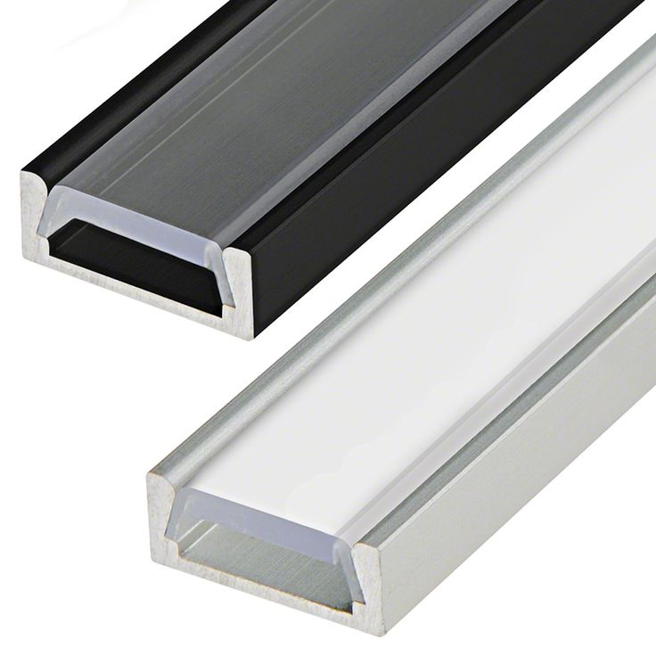 Low Profile Aluminum Led Strip Channel Surface Mount Led