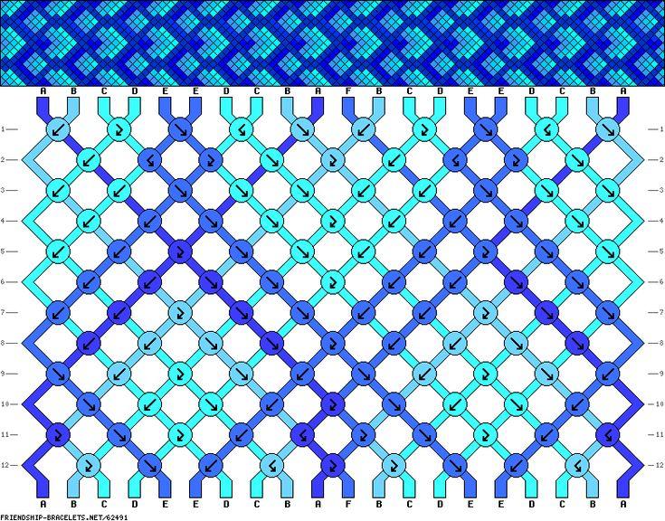 20 strings, 6 colors, 12 rows