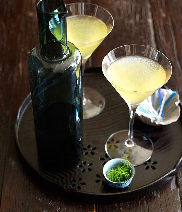 Tetsuya Wakuda: Kaffir Lime and Green Apple Martini