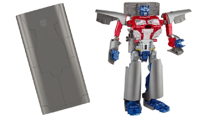 This Optimus Prime Toy Charges Your Phone