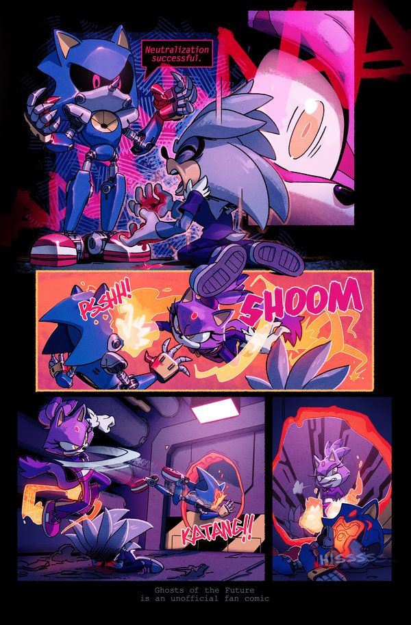 Gotf Issue 17 Page 17 By Evanstanley Sonic And Shadow Sonic Art Sonic Fan Art