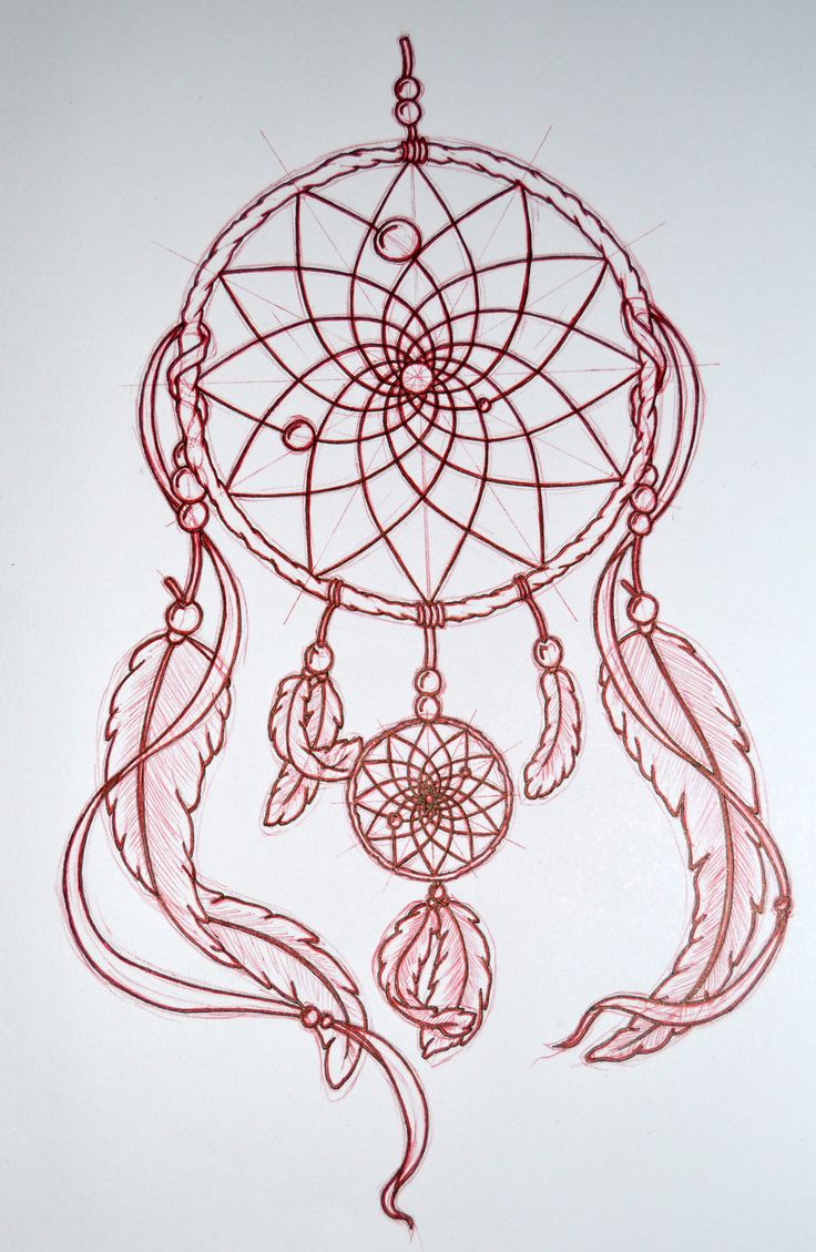 A Design Dream: Mandala Dream Catcher Drawings - Google Search