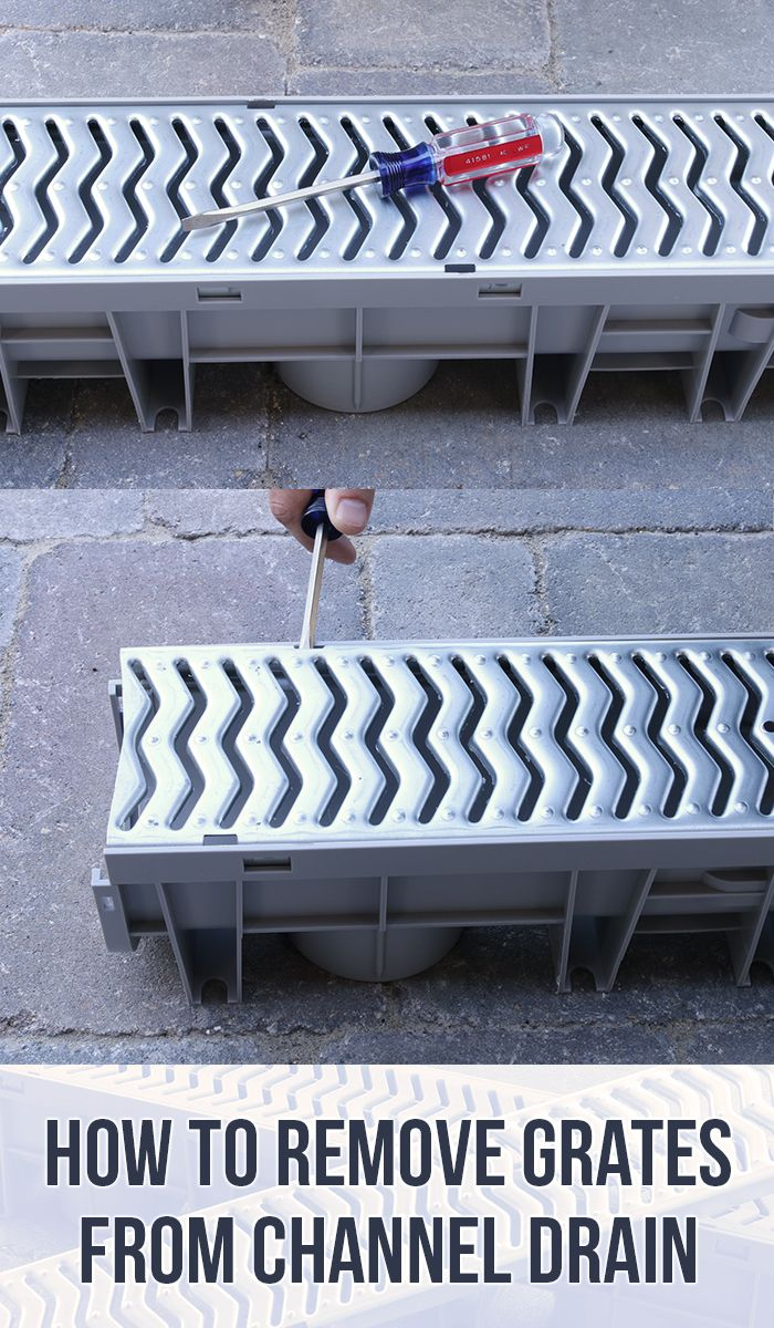 Channel Drainage For Patios: Best 25+ Trench Drain Ideas On Pinterest