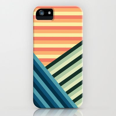 Stripes Are Us iPhone & iPod Case by Diogo Coito - $35.00