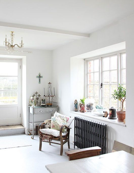 White Room With Black Radiator Sfgirlbybay