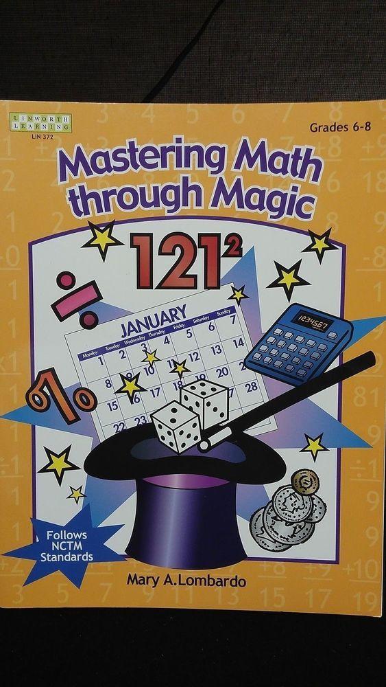 Mastering Math through Magic tricks Book Mary A Lombardo