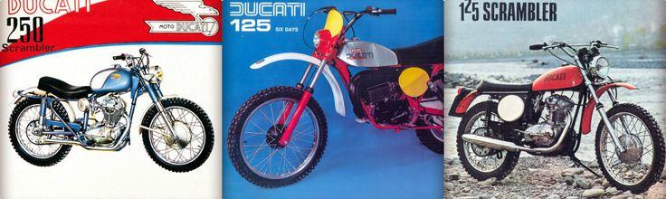 Ducati je poznat I prepoznat kao proizvođač motocikala za trke i vožnju po putu, ali je takođe nekoliko puta bilo pokušaja da se izađe i van puta u Off-road avanturu. Prvi je bio Scrambler 250 iz 1962. godine koji je prvobitno napravljen kao terenski motocikl za američko tržište. Nakon toga 1970. Godine Ducati je napravio 125 kubika motokros verziju za mlađe motocikliste....