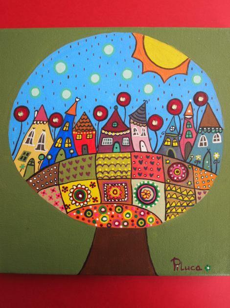 Decoraciones Naif ~ Mis pinturas Naifs