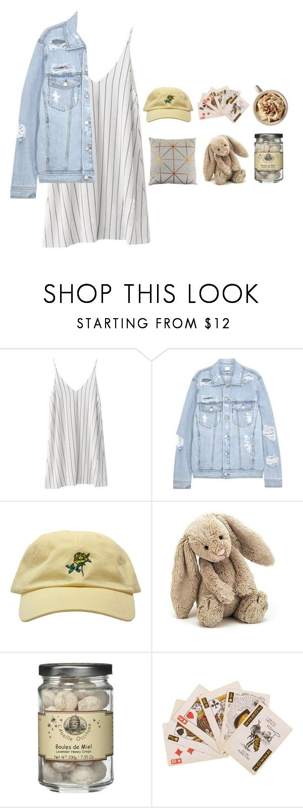 """""""☆Mr.Brightside ☆"""" by plant-plagues ❤ liked on Polyvore featuring SJYP, Jellycat, MIEL and Bloomingville"""