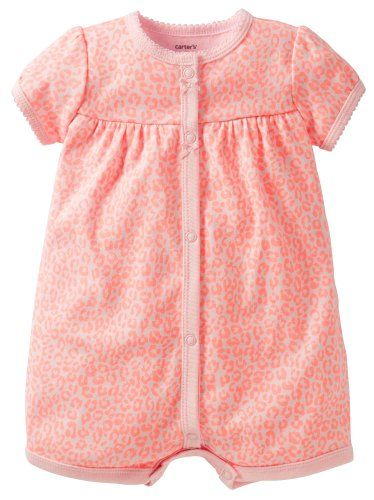 Carters Printed Creeper Baby  Leopard18 Months ** Want additional info? Click on the image.