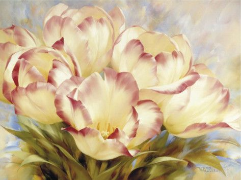 Champagne Red Tulips by Igor Levashov. Art Print from AllPosters.com, $59.99