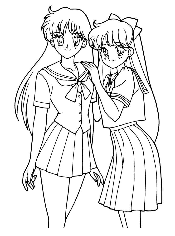 Sailormoon Malvorlagen