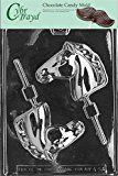 Cybrtrayd Life of the Party A087 Horse Head Lolly Chocolate Candy Mold in Sealed Protective Poly Bag Imprinted with Copyrighted Cybrtrayd Molding Instructions