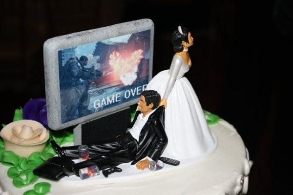 lol Wedding CakeWedding Cake Toppers, Ideas, Games, Grooms Cake, Unique Wedding, Funny, Wedding Cakes, Wedding Toppers, Weddingcake