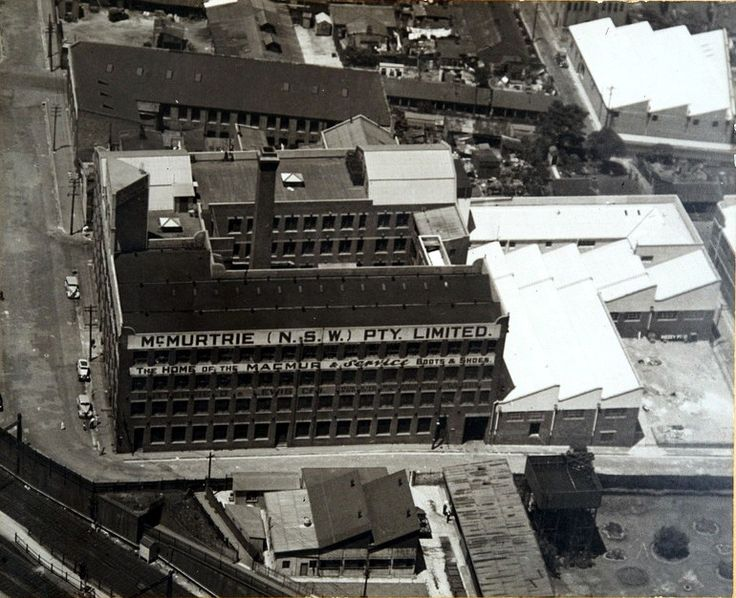 McMurtrie Footwear building, Rosehill and Marian Streets, Redfern., c 1930