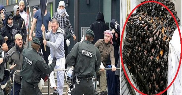 GERMANY IN SHOCK: German Police Raided a Mosque and this is what they Found the Jihadis were Trying to Hide – ilovemyamerica
