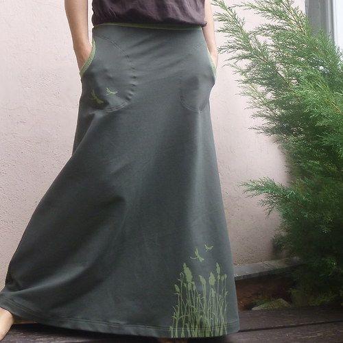 Sukýnka ... luční tráva (zelená)