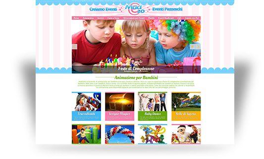 www.made20.com - azienda che organizza animazione per bambini e feste di compleanno per bambini a Treviso, Padova e Vicenza