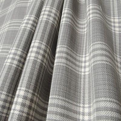 "Covington Barnegat Plaid Pearl Grey 54"" Fabric - Sailrite"