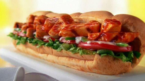 Subway Calories - Buffalo Chicken